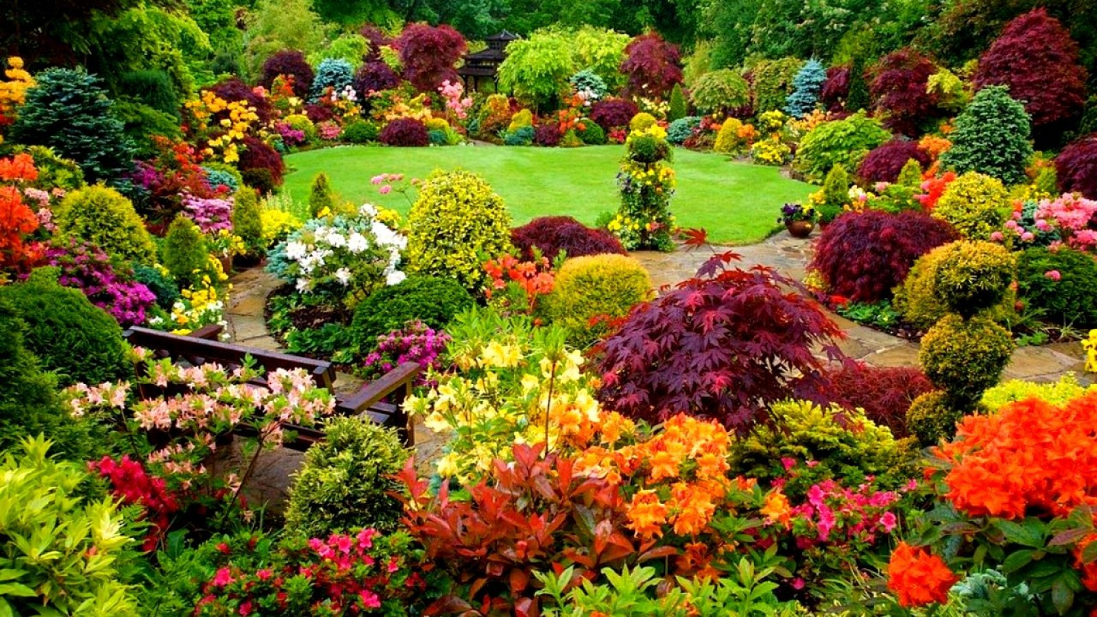 Landscape with fall color plants greenlawn by design landscape fall colors mightylinksfo