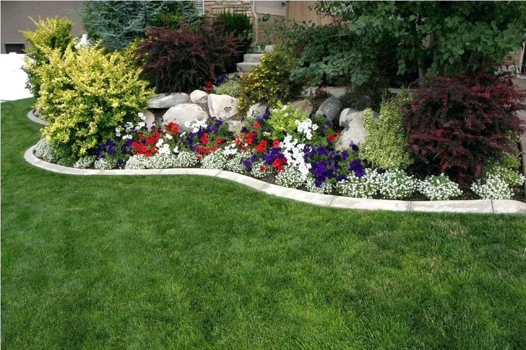 Flower Bed Ideas For South Florida Plans Front Of House Simple